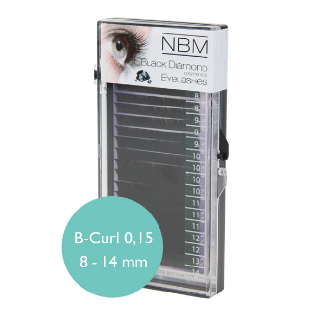 BDC Silk Lashes B-Curl 0,15 Mix