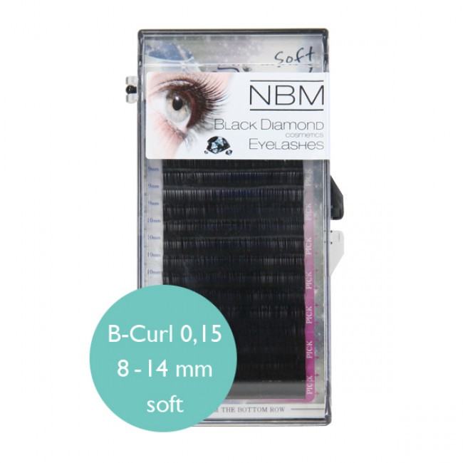 BDC Soft Silk Lashes B- Curl 0,15 Mix