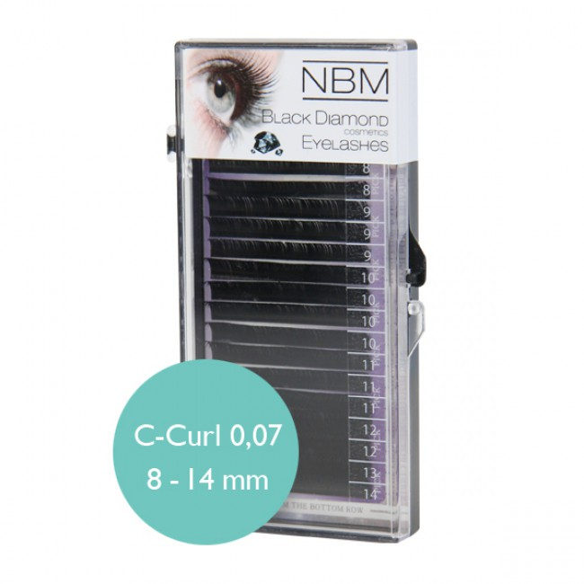 BDC Silk Lashes C-Curl 0,07 Mix