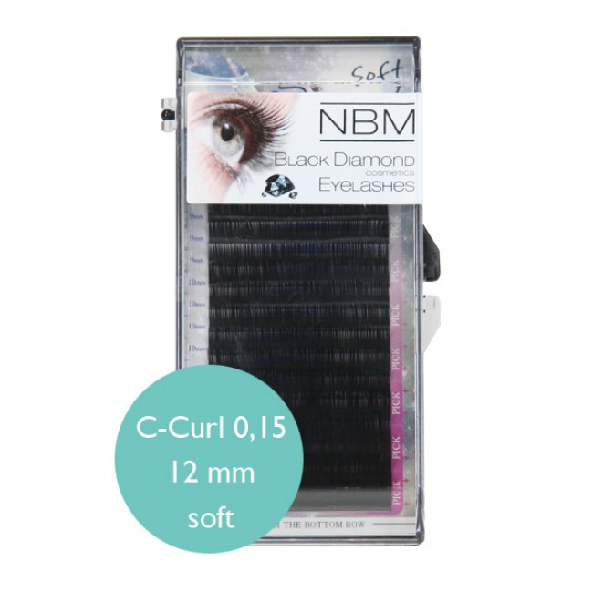 BDC Soft Silk Lashes C- Curl 0,15 - 12mm