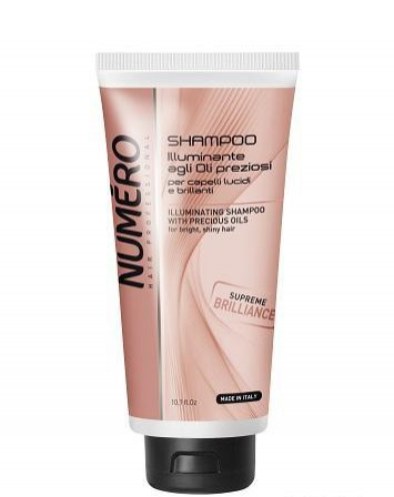 Numero Illuminating shampoo with precious oils 300 ml