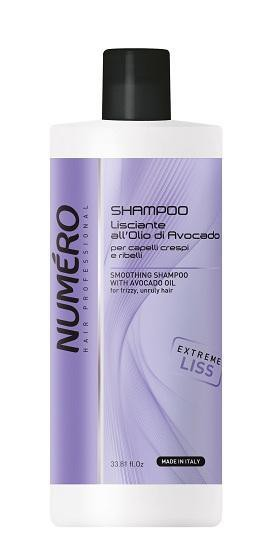 Numero Smoothing Shampoo with avocado oil 1000ml