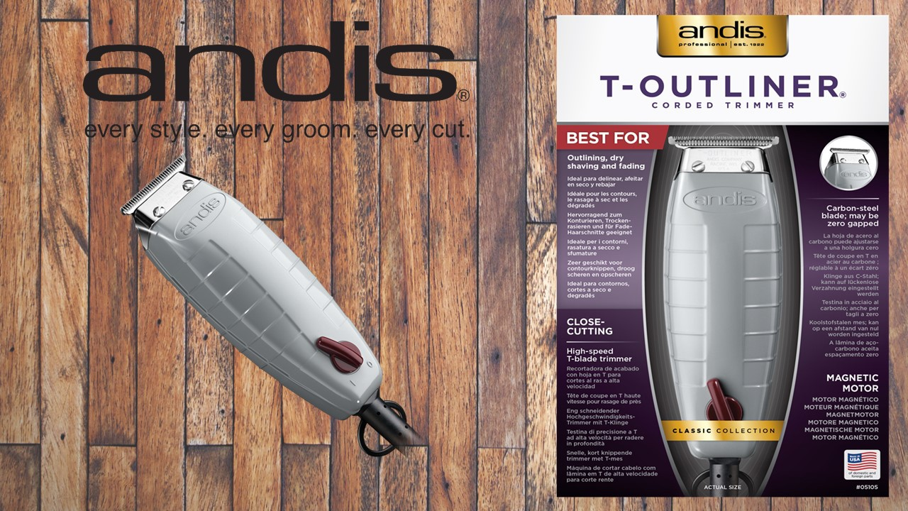 Andis T- Outliner® T-Blade Trimmer (EU)